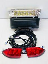 Club Car 2008.5+ Precedent Golf Cart FULL LED Headlight & Taillight LIGHT KIT