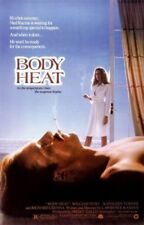 BODY HEAT ORIGINAL FOLDED MOVIE POSTER 1981 KATHLEEN TURNER 27X41 WILLIAM HURT