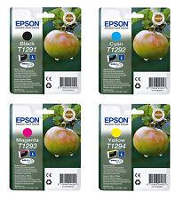 Genuine Epson T129 Combo 4 pack Ink Cartridge Black/Cyan/Magenta/Yellow Printer