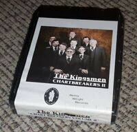 SEALED NEW The Kingsmen 8-Track Tape CHARTBREAKERS II  Heavy Weight Records VTG