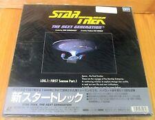 STAR TREK NEXT GENERATION LASERDISC BOX SET 1st SEASON Vol 1  BRAND NEW & SEALED