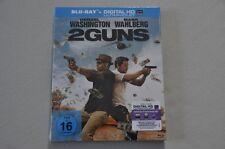 Blu Ray - 2 Guns - Mark Wahlberg Denzel Washington - Blue Ray  Neu OVP