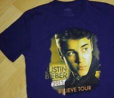 Justin Bieber Concert Tee - 2013 Pop Popular Music Believe Tour T Shirt Small