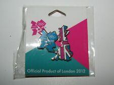 London 2012 Olympic Games Pin Badge Union Jack UK Country shape - sealed packet