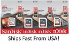 SanDisk SD Class 10 Ultra 8GB 16GB 32GB 64GB SDHC Flash Camera Memory Card Lot