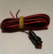 ALLARME Auto Di Ricambio Luce LED luminoso rosso 12 V Dash di montaggio
