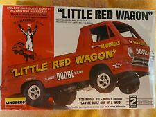 """Lindberg """"Little Red Wagon"""" 1:25 Scale Model Kit Factory Sealed new old stock"""