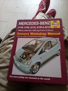 haynes manual mercedes benz A series petrol & diesel 2004
