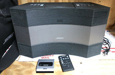 Bose Acoustic Wave Music System II CD AM/FM Stereo Player Includes Remote & Bag