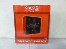 Coca Cola Fiber Optic Light Box