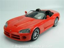DODGE VIPER SRT-10 CAR MODEL RED 1:43 SIZE SPORTS USA AMERICAN T3412Z