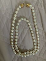 JADED JEWELS MADISON AVE NYC VINTAGE PEARL NECKLACE