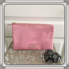 PRADA CANDY Pink Makeup Pouch Cosmetic Bag Toiletry Case Set Double Clutch