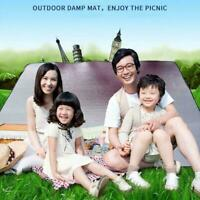 2020 Outdoor Camping Picnic Mat Waterproof Sleeping Aluminum Pad Mattress D5G7