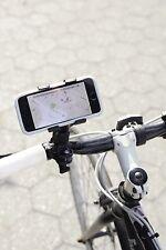 Handy Fahrradhalterung schwarz, Smartphone Fahrradhalterung mit Clipfunktion!