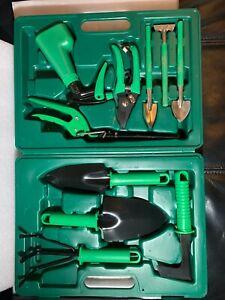 10PCS Garden Tool Set Grafting Pruning Shovel Rake Weeding Harrow Sprayer