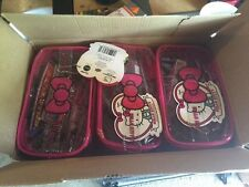 3 BOX CASE Hello Kitty 40th Anniversary Carry All Case -20 Different Items.