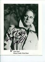 John Saul Blackstone Chronicles Horror Author Signed Autograph Photo