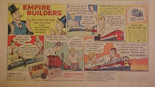 1954 Lionel Electric Trains Boys Empire Builders Railroad Memorabilia Toy Art Ad