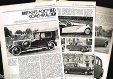 Vanden Plas (Uk) Cars/Auto Article / Photos / Pictures: Daimler, 1300,