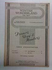 piano conductor WINTER WONDERLAND
