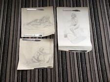 Old Erotic Art Drawing Nude Naked Woman Picture in Pencil 1938