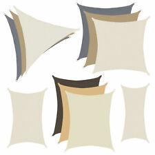 anndora Sonnensegel Sonnenschutz Sichtschutz Windschutz UV-Schutz HDPE Polyester
