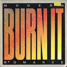 DISCO 45 Giri   Modern Romance - Burn It