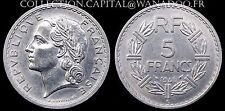 5 Francs LAVRILLIER 1946C Aluminium SUP