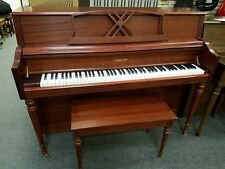 Hamilton by Baldwin H310 Console Upright Piano Mfg in China with Matching Bench