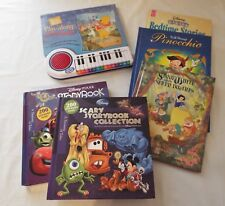 Lot Of 6 DISNEY Hardcover BOOKS~Storybook Collection~Winnie~Babies~Snow white~