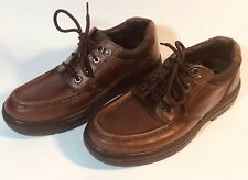 Thom McAn Brown Leather Upper Hiking Chukka Boots Poron Men s US 8 UK 7 EUR  41.5 8eaffccb19e