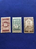 Italy Stamps, 3 stamps, 1921, Mint Never Hinged, Price: $12US,  (2273)