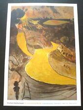 Graham Sutherland - An unfinished world    2011 ART EXHIBITION POSTER