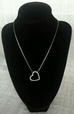 Love Statement Crystal Heart Costume Necklaces & Pendants