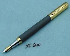 Vintage Hero 395 Grey Fountain Pen Fine Nib Made in 1990s