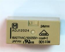1 x Panasonic ADJ12024 PCB mount Latching Relay 24V dc Use In Power Application