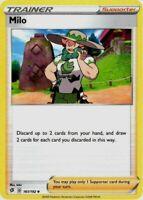 Pokemon Card Lot Trainer - 4x Milo 161/192 - Mint NM