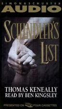 Schindler's List by Thomas Keneally (1993, Cassette, Abridged)
