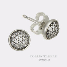 Authentic Pandora Silver Dazzling Droplets Clear CZ Stud Earrings 290726CZ