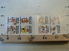 STICKER,DECAL DONALD DUCK SHEET 8 STICKERS 1990 DISNEY
