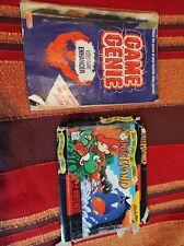 Super Mario World 2 yoshi's island usa box + game genie book