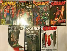 IDENTITY CRISIS#1-7 VF/NM  LOT 2004 DC COMICS