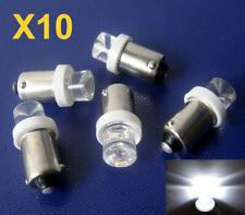 10x Birnen LED BA9S Standlicht T4W Standlicht Lampe Weiß 12V 6000K Deutsche Post