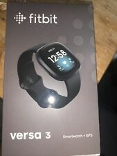 Fitbit - Versa 3 Health & Fitness Smartwatch - Black