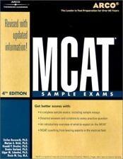 Arco McAt Sample Exams ( Academic Test Preparation Series)-ExLibrary
