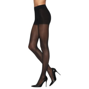 L'eggs Sheer Energy Medium Support Leg 6 Pack Black size Q / Large