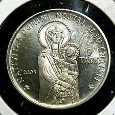 2003 MALTA SILVER 9 TARI PROOF BRILLIANT UNCIRCULATED  COIN