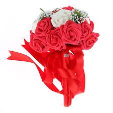 Silk Roses Wedding Flowers, Petals and Garlands