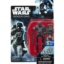 "STAR WARS Rogue One 3.75"" K-2SO Seal Droid ACTION FIGURE NEW"